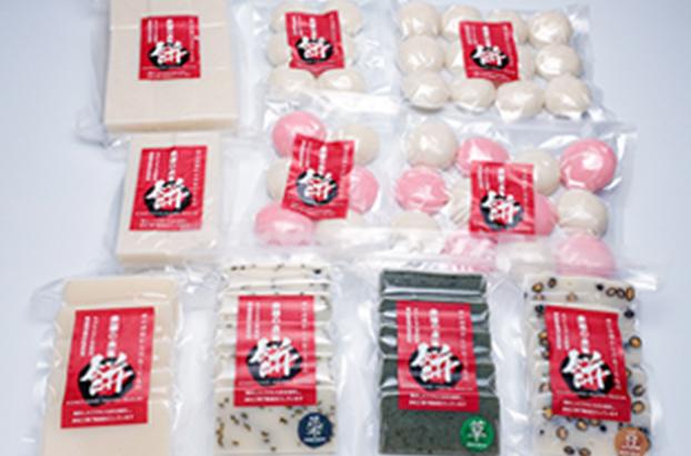 商品写真:米屋の本気餅シリーズ